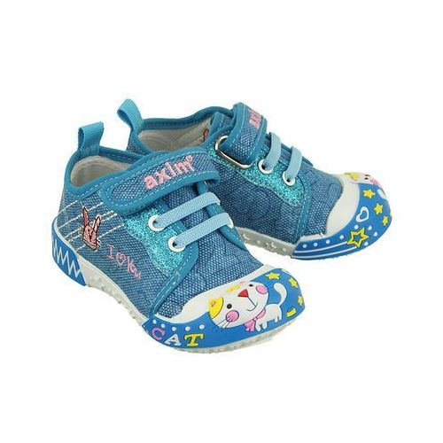 Buty sportowe dla dzieci, AXIM 1TE1188 niebieski, tenisówki dziecięce, rozmiary: 19-24 - Niebieski