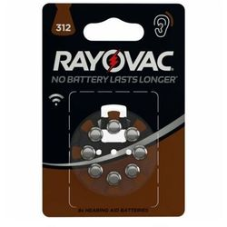 Baterie RAYOVAC ZA312/8