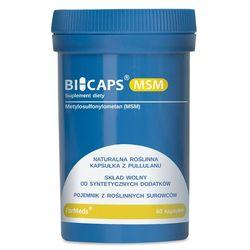 BICAPS MSM, Formeds, (Metylosulfonylometan), 60 kapsułek