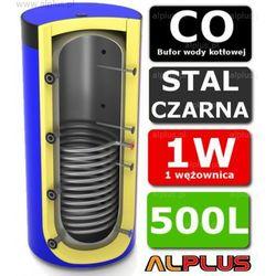 Bufor LEMET 500L z 1 Wężownicą do CO - Zbiornik Buforowy Zasobnik Akumulacyjny 500 litrów - Wysyłka Gratis