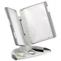 Gabloty reklamowe, System biurkowy Tarifold A4 z 10 szarymi panelami 734300