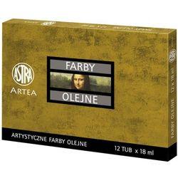Farby olejne Artea 12 tubek x 18ml zestaw 1 ASTRA