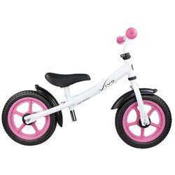 "Rowerek biegowy Vivo V4.0 12"" EVA white pink"
