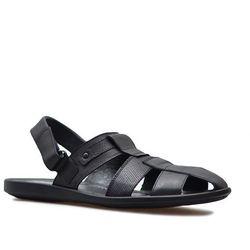 Sandały Krisbut 1194-1-1 Czarne lico