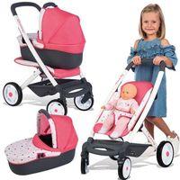 Wózki dla lalek, Smoby wózek wielofunkcyjny dla lalki Maxi Cosi