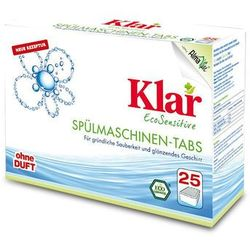 KLAR 25szt Tabletki do zmywarek Eco