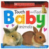 Książki dla dzieci, Touch and Feel Baby Animals
