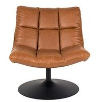 Fotele, Dutchbone Fotel BAR VINTAGE brązowy - Dutchbone 3100044