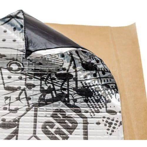 Maty wygłuszające do samochodu, StP GB mata butylowa 1,5mm wyciszająca 3,5 m2