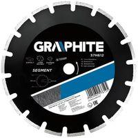 Tarcze do cięcia, Tarcza do cięcia GRAPHITE 57H612 300 x 25.4 mm diamentowa