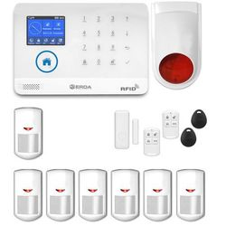 Bezprzewodowy alarm gsm 3G + WiFi PG R7 + syrena bezprzewodowa 120 dB PG R7 bezprzewodowa (-14%)