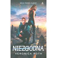 Książki dla młodzieży, NIEZGODNA (OKŁADKA FILMOWA) (opr. miękka)