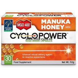 Kapsułki CycloPower™ z miodem Manuka MGO™ 400+ (30 kapsułek) - Manuka Health