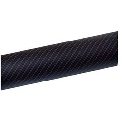 Folia carbon okleina tuning 2D 30x100 czarny mat