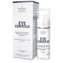 Farmona Eye Contour Dermowygładzający Trójaktywny Krem Pod Oczy 30ml
