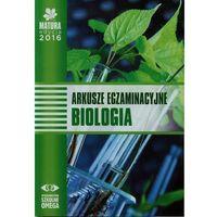 Biologia, Matura 2016 Arkusze egzamin. Biologia OMEGA (opr. miękka)