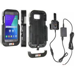 Brodit wzmocniona wytrzymała obudowa aktywna w wersji z kablem USB i ładowarką samochodową do Samsung Galaxy J3 (2017) z systemem adaptacyjnym Active MultiMoveClip