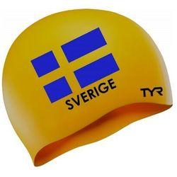 TYR CZEPEK TRENINGOWY SWEDEN SWIM CAP SILICONE LCS SWE
