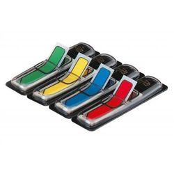 Zakładki indeksujące POST-IT (684-ARR3) PP 12x43mm strzałka 4x24 kart. mix kolorów