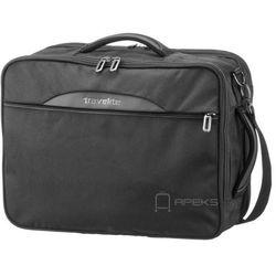 Travelite Crosslite torba podróżna kabinowa / podręczna / plecak / czarny - czarny ZAPISZ SIĘ DO NASZEGO NEWSLETTERA, A OTRZYMASZ VOUCHER Z 15% ZNIŻKĄ