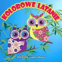Książki dla dzieci, Kolorowe latanie - Praca zbiorowa (opr. miękka)