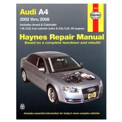 Audi A4 Automotive Repair Manual