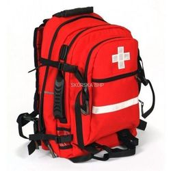 Plecak ratowniczy apteczka trzykomorowy 40L (49 cm x 25 cm x 32 cm)