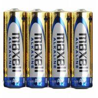 Akumulatorki, Maxell Bateria AA Bliter 4 sztuki (790223.04.CN) Darmowy odbiór w 21 miastach!