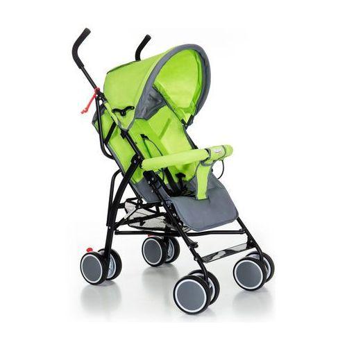 Wózki spacerowe, Wózek spacerówka Moolino Compact G zielono-szary