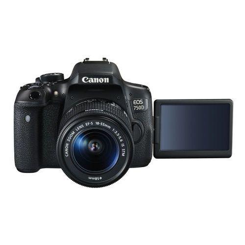 Lustrzanki, Canon EOS 750D