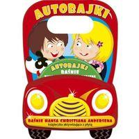 Książki dla dzieci, Auto-bajki. Baśnie Hansa Christiana Andersena. Książeczka aktywizujaca z płytą (opr. broszurowa)