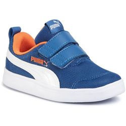 Sneakersy PUMA - Courtflex V2 Mesh V PS 371758 01 Bright Cobalt/Firecracker