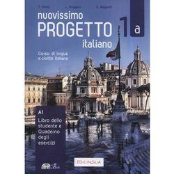Progetto italiano Nuovissimo 1A podr.+ ćw.+CD (opr. miękka)