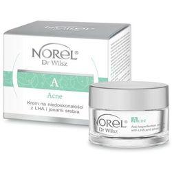 Norel Acne - Krem na niedoskonałości z LHA i jonami srebra