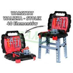 warsztat 40 elementów WALIZKA NARZĘDZIA T1463