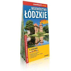 Województwo Łódzkie 1:220 000. Laminowana mapa samochodowo-turystyczna. ExpressMap (opr. miękka)