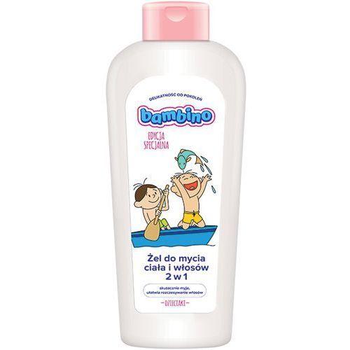 Łodzie i statki dla dzieci, Żel do mycia ciała i włosów Bambino łódź 400 ml