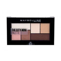 Maybelline The City Mini cienie do powiek 6 g dla kobiet 480 Matte About Town