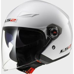 KASK LS2 OF569.2 TRACK SOLID WHITE