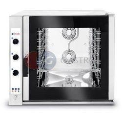 Piec konwekcyjno-parowy elektryczny sterowanie manualne 7x GN 1/1 Hendi 225554
