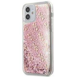 "Guess GUHCP12SLG4GSPG iPhone 12 5,4"" różowy/pink hardcase 4G Liquid Glitter Guess / GUE000865"