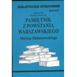Biblioteczka Opracowań Pamiętnik z Powstania Warszawskiego Mirona Białoszewskiego (opr. miękka)