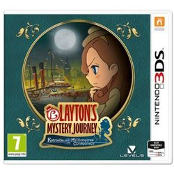 Layton's Mystery Journey: Katrielle and the Millionaires' Conspiracy - Nintendo 3DS - Puzzle
