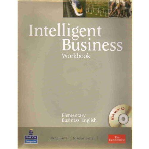 Książki do nauki języka, Intelligent Business Elementary Workbook (zeszyt ćwiczeń) plus Audio CD (opr. miękka)