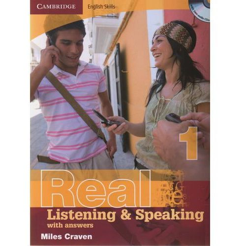 Książki do nauki języka, Cambridge English Skills Real Listening & Speaking 1 Paperback with Answers and Audio CDs (2) (opr. miękka)
