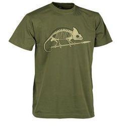 t-shirt Helikon szkielet kameleona US green (TS-SKC-CO-29)