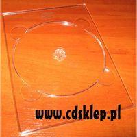 Pudełka i portfele na płyty, Tray digipack na 1 DVD przezroczysty 200szt.