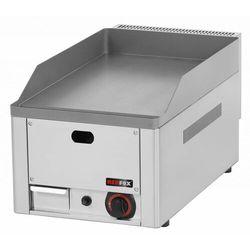 Płyta grillowa gładka gazowa | 330x480mm | 4000W | 330x580(H)220mm