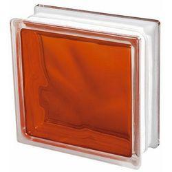 Pustak szklany Seves barwiony pomarańczowy