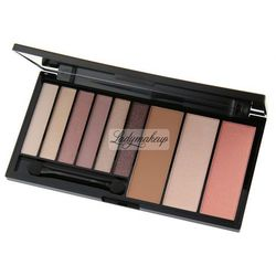 Makeup Revolution Palette Euphoria Bare Zestaw do makijażu oczu i twarzy 1op